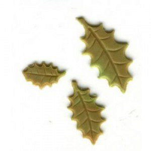 PME Holly Leaf Plunger Cutter, 3-teiliges Set, groß