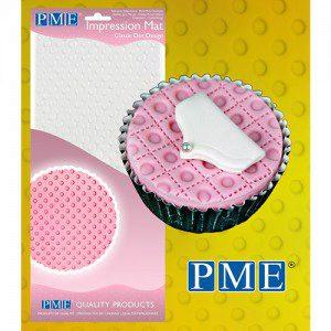 PME Impression Mat Classic Dot Design - klassische Punkte