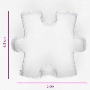 Keksausstecher Puzzlestück 4,5 cm