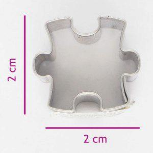Keksausstecher Puzzlestück 2 cm