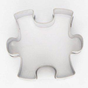 Keksausstecher Puzzlestück 3 cm