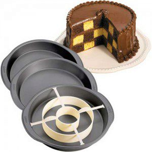 Wilton Checkerboard Cake Pan Set