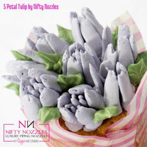 Sugar and Crumbs Nifty Nozzle -5 Petal Tulip-