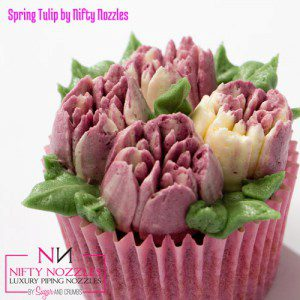 Sugar and Crumbs Nifty Nozzle -Spring Tulip-