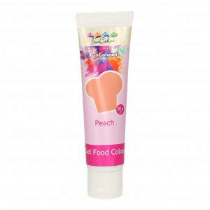 FC Edible FunColours Gel - Peach 30g