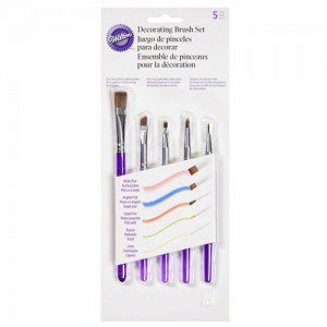 Wilton Decorating Brush Set / 5-teilig