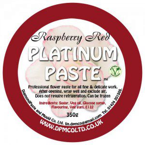 Platinum Paste - Raspberry Red