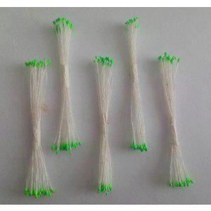 Staubgefäße / Stamens klein, grüne Köpfe