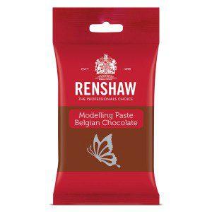 Renshaw Belgian Chocolate Modelling Paste -Milk-