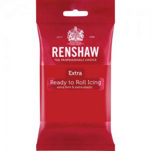 Renshaw Rollfondant Extra - Red -