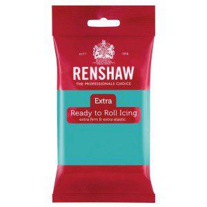 Renshaw Rolled Fondant Extra - Jade Green -