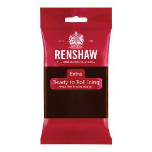 Renshaw Rolled Fondant Extra - Chocolate Flavoured-