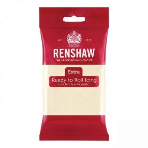 Renshaw Rolled Fondant Extra 250g - White Chocolate Flavour