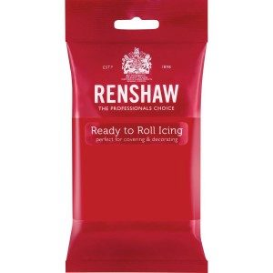 Renshaw Rolled Fondant Pro - Poppy Red