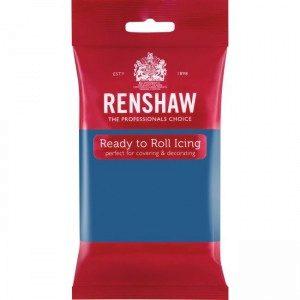 Renshaw Rolled Fondant Pro 250g - Atlantic Blue