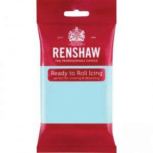 Renshaw Rolled Fondant Pro 250g - Duck Egg Blue