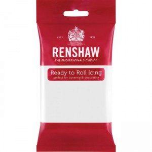 Renshaw Rolled Fondant Pro 250g - weiß