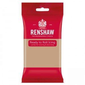 Renshaw Rolled Fondant Pro  - Latte