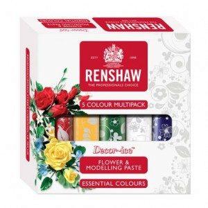 Renshaw Flower & Modelling Paste - Essential 5x100g