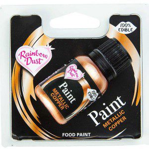 RD Metallic Food Paint Copper