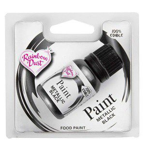 RD Metallic Food Paint Black