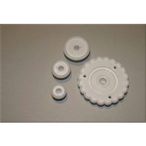 PME Rüschenausstecher, rund, 4-teilig, Garret Frill Cutter
