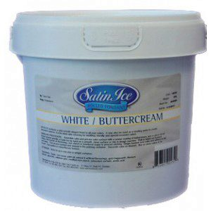 Satin Ice Rollfondant Buttercream White