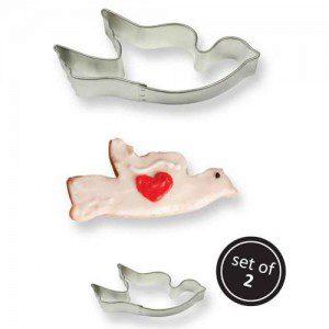PME Cookie Cutter Dove set/2 / Taube