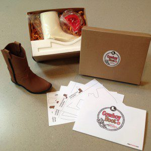 CakeStructure Cowboy Boot Kit, Cowboy-Stiefel