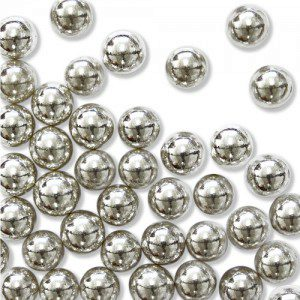 PME Sugar Pearls Silver - 25g / 8mm