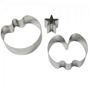 PME Medium Sweet Pea & Star Calyx Cutters Set/2
