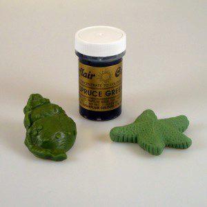 SU Pastenfarben - Spruce green