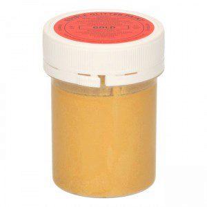 SU Edible Glitter Paint Gold 20g