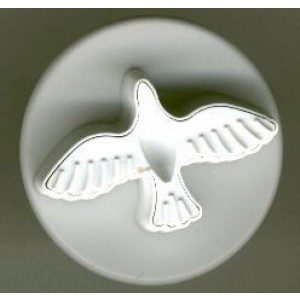 PME Taube / Dove - Prägestempel, mittel