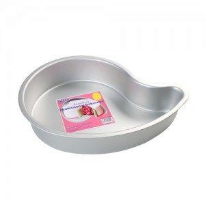 PME Deep Comma Cake Pan, Paisley / Tropfen, Durchm. 20,3 cm