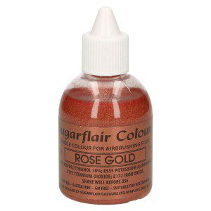 SU Airbrush Colouring -Glitter Rose Gold-