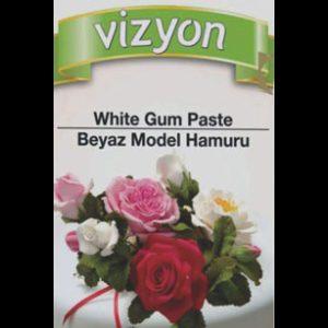Vizyon GumPaste / Blütenpaste, weiß