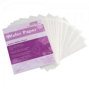Culpitt Edible Wafer Paper Sheets pk/12