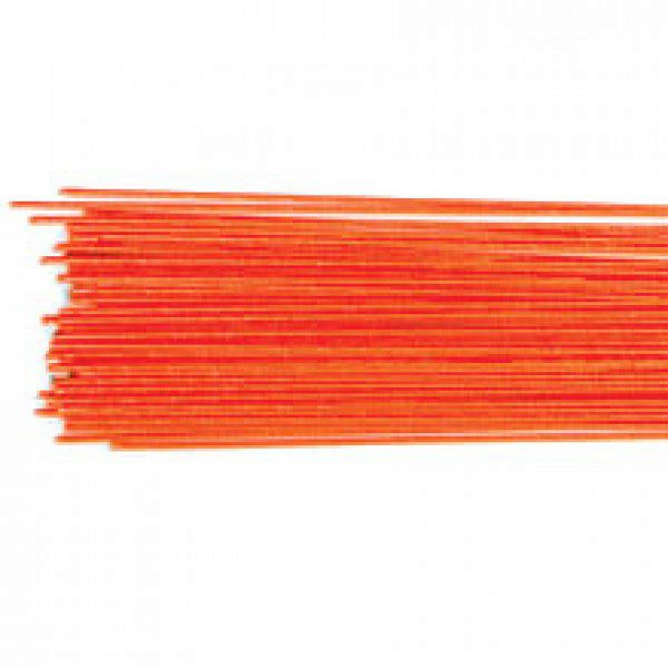 Blumendraht / Florist wire in metallic red