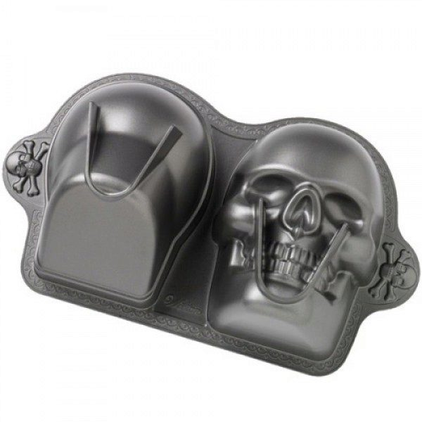 Wilton Dimensions 174 3d Skull Backform