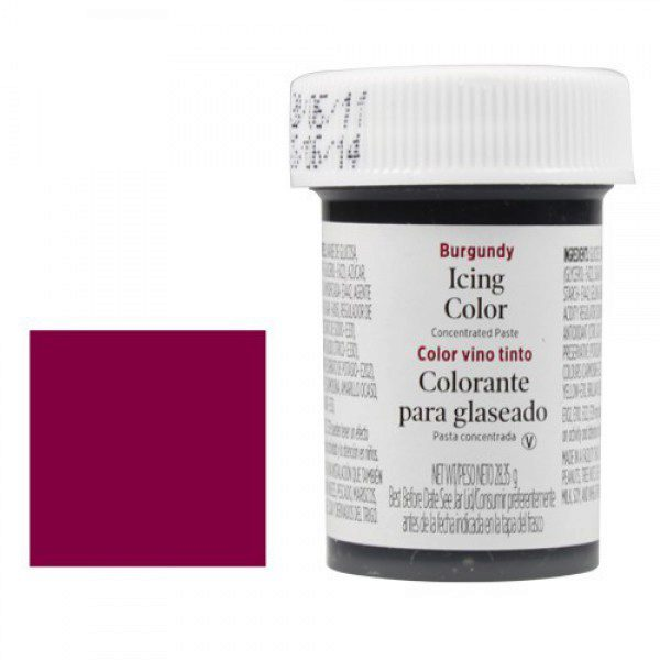 Icing Colors - burgundy