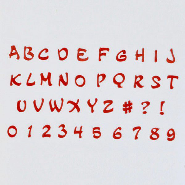FMM Alphabet & Numbers Tappits Magical Upper Case, Großbuchstaben ...