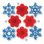 JEM Angel Snowflakes Cutter set/4