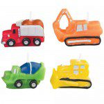 Wilton Candle Set Construction Vehicles set/4