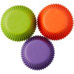 Wilton Baking Cups Assorted Solid Color pkg/75