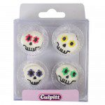 Culpitt Zuckerdekorations Party Skull Pkg/12