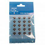 House of Cake Jelly Diamonds -Black- pk/20