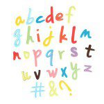 CakeStar Push Easy Lower Case Script Alphabet Cutters Set/6