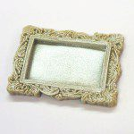 KatySue Mould Miniature Frames - Vintage Rectangle