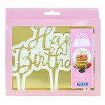 PME Cake Topper Ausstecher Happy Birthday - Skript